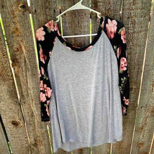 Almost Famous blouse long sleeve size 1X
